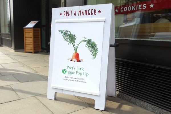Pret to open first standalone vegetarian store