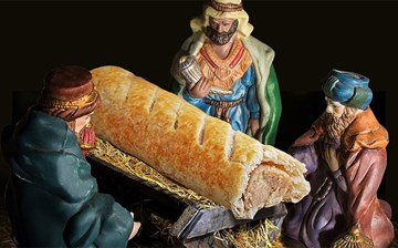 Greggs apologises for replacing Jesus with sausage roll for advent calendar photo campaign