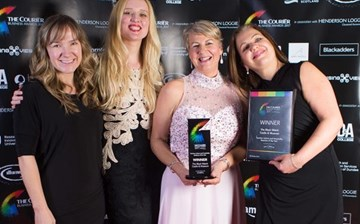 The Black Watch Castle and Museum win Courier Business Award