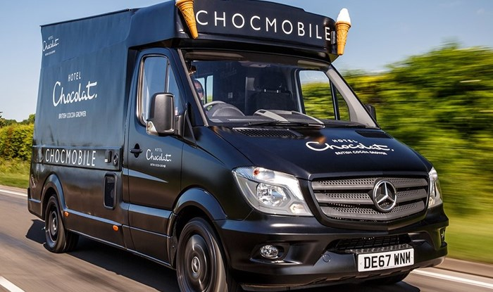 Hotel Chocolat appeal for missing 'Chocmobile' information