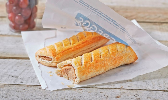 Greggs stockpiling sausage roll pork in preparation for Brexit