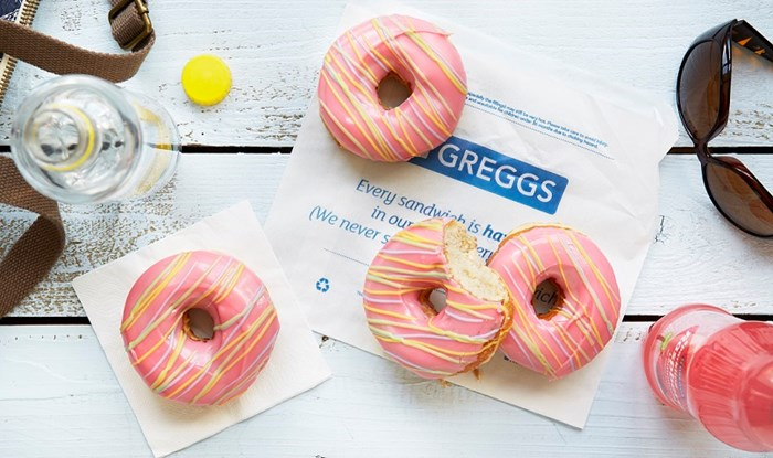 Greggs encouraging healthy eating by offering lower calorie doughnuts