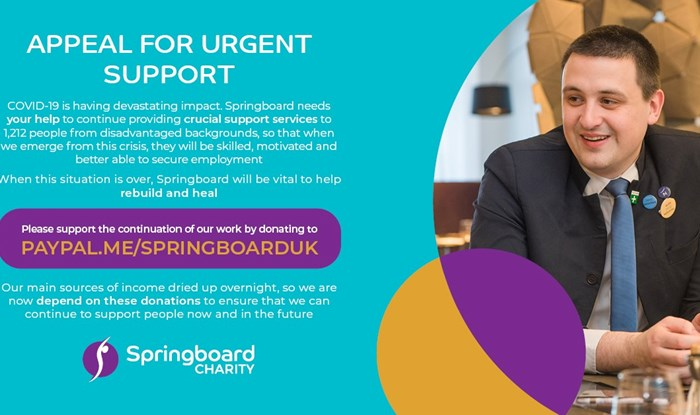 An urgent plea from Springboard's CEO, Anne Pierce